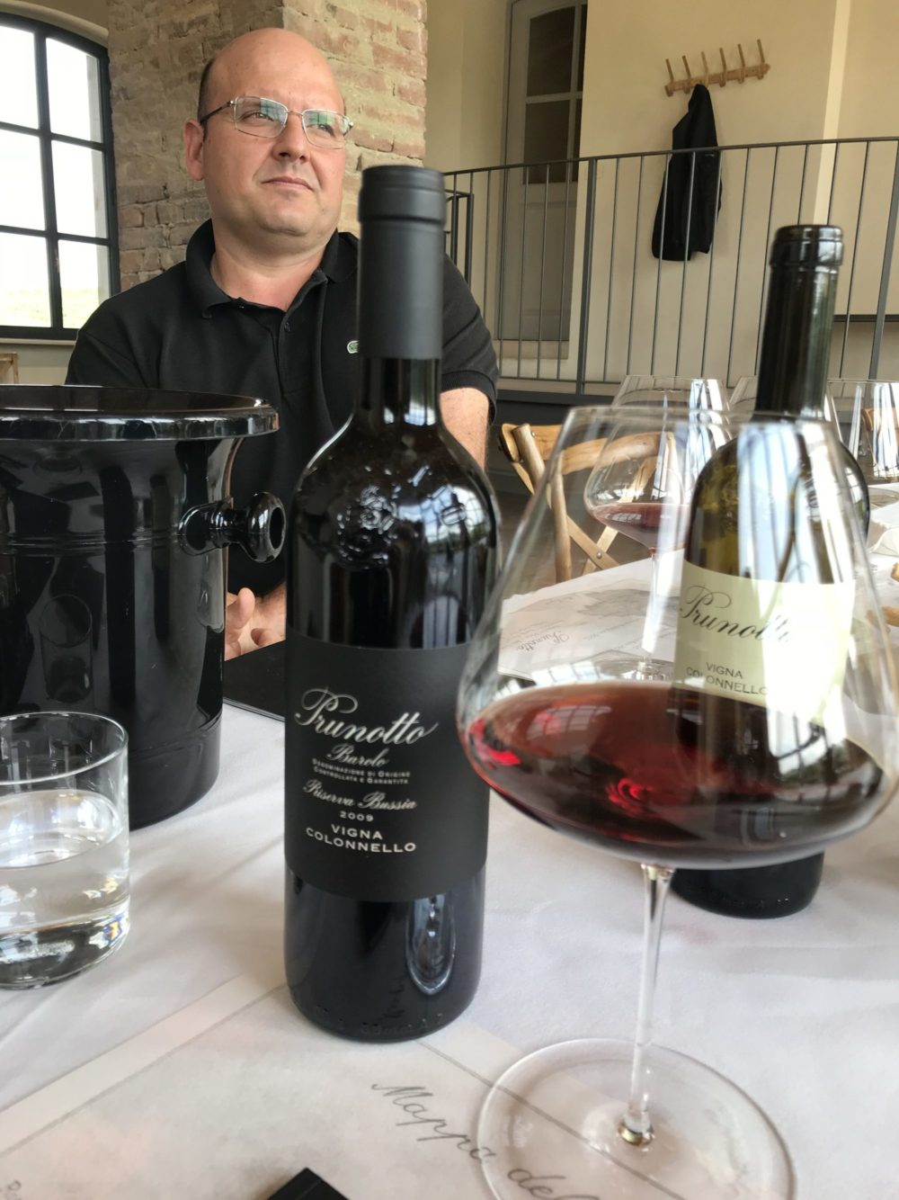 Prunotto's Vigna Colonnello Barolo Riserva gets its own winery & tasting room