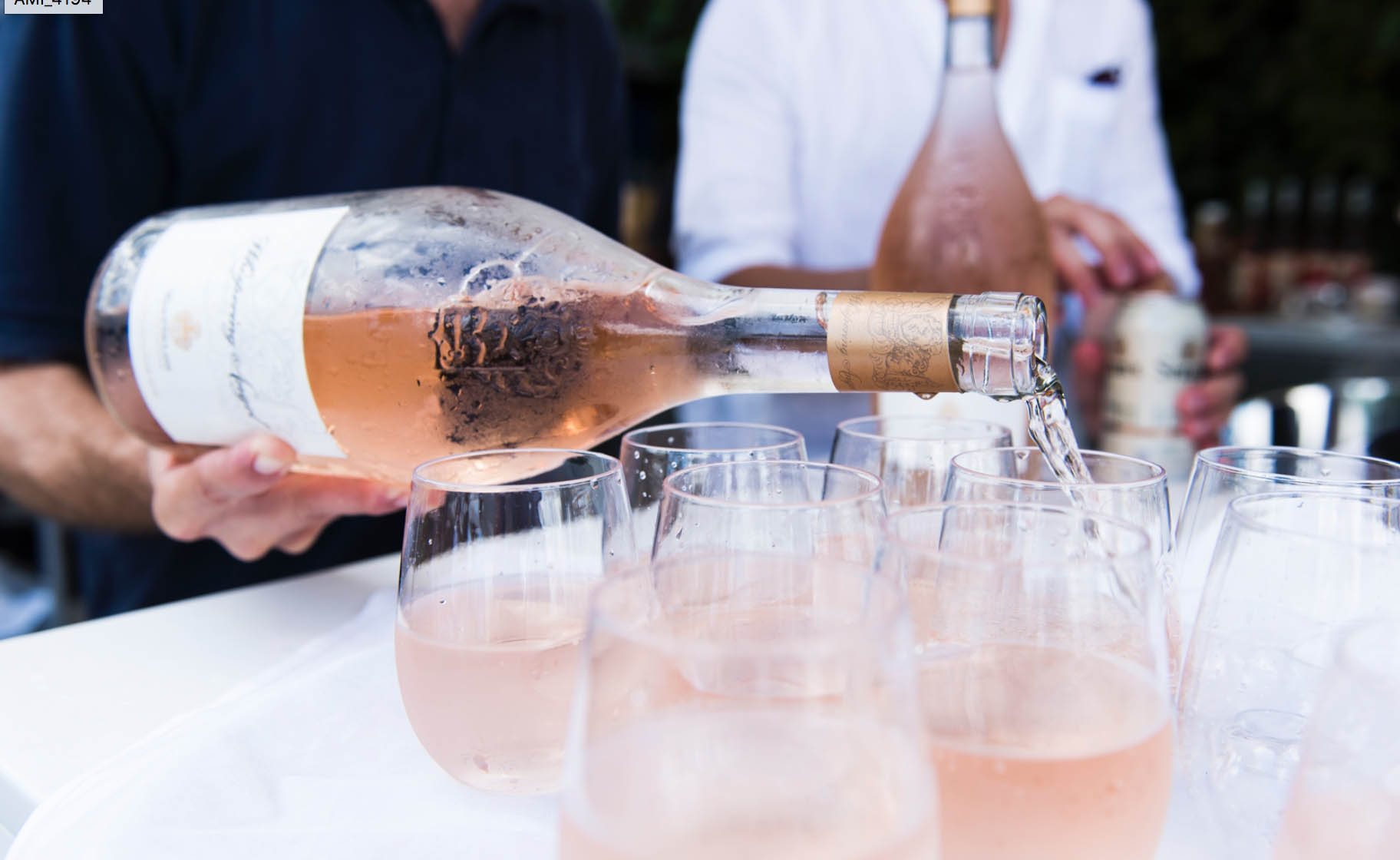 Whispering rosés and magic with Alain Riviere
