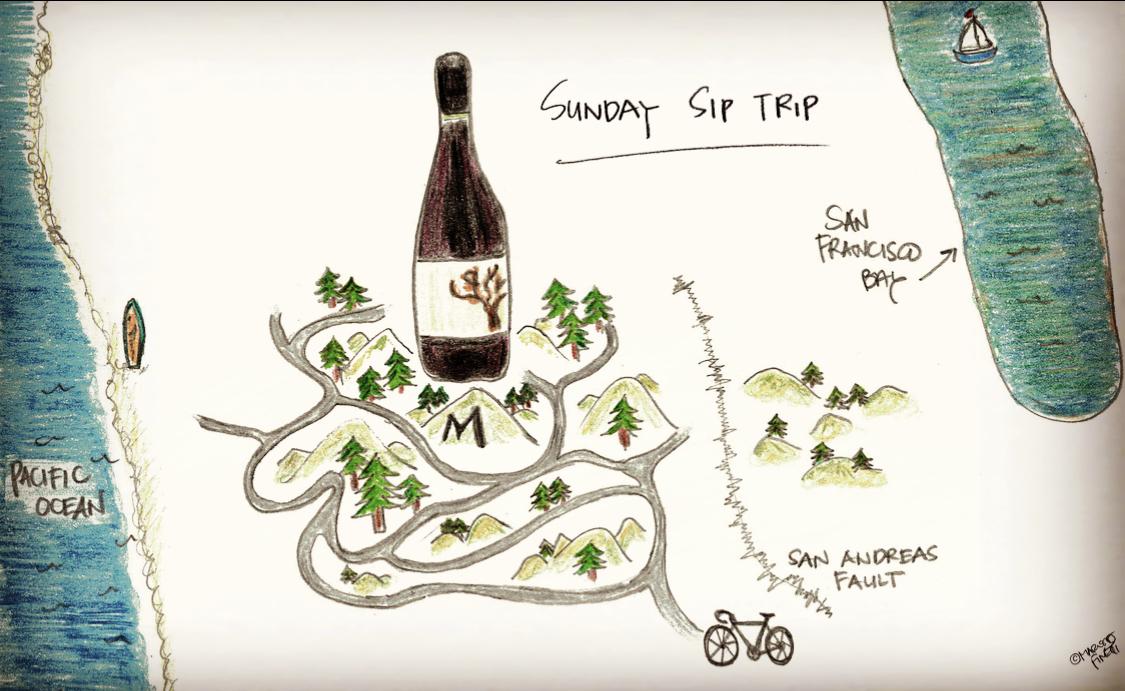 Sunday Sip Trip: Santa Cruz Mountains Pinot Noir